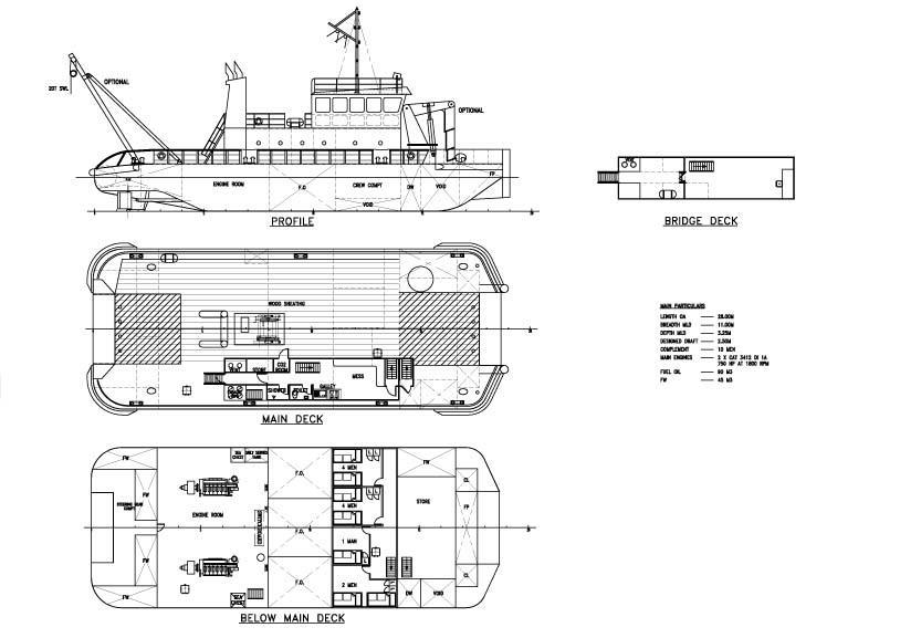 buque coster