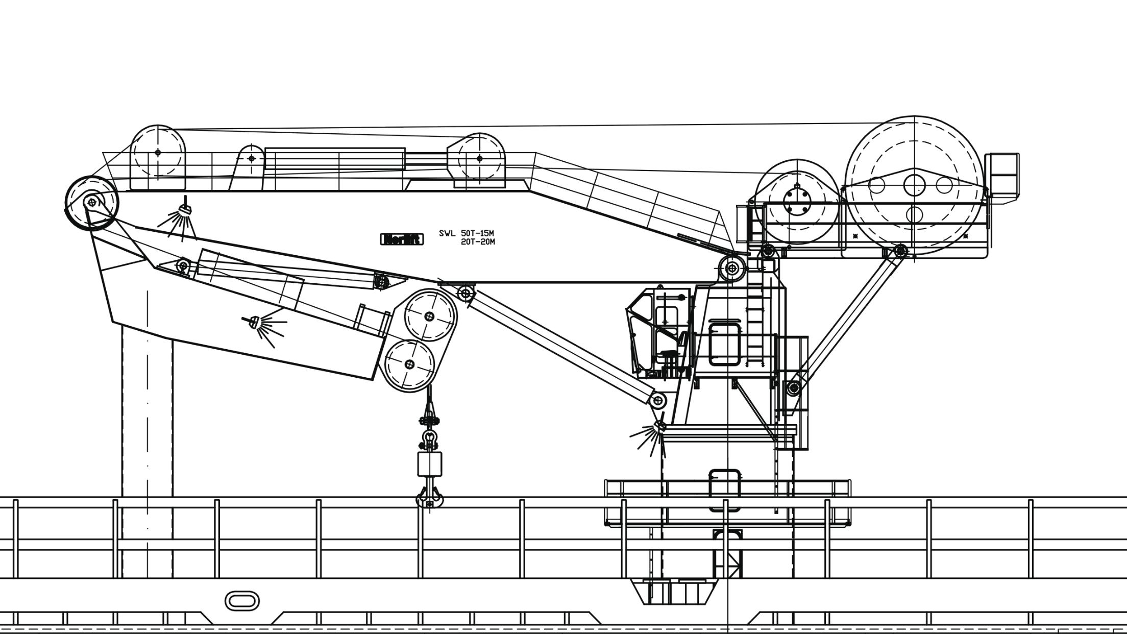 TTS Nordlift, 50 ton SWL