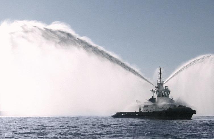 ASD Tug waterspray