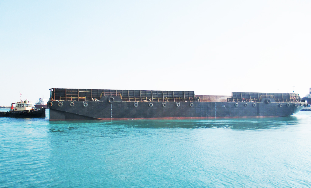 345 ft Deck cargo Barge