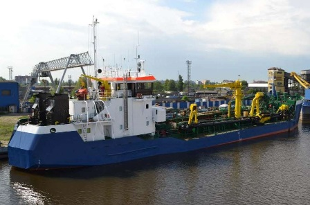 Split Hopper Dredger
