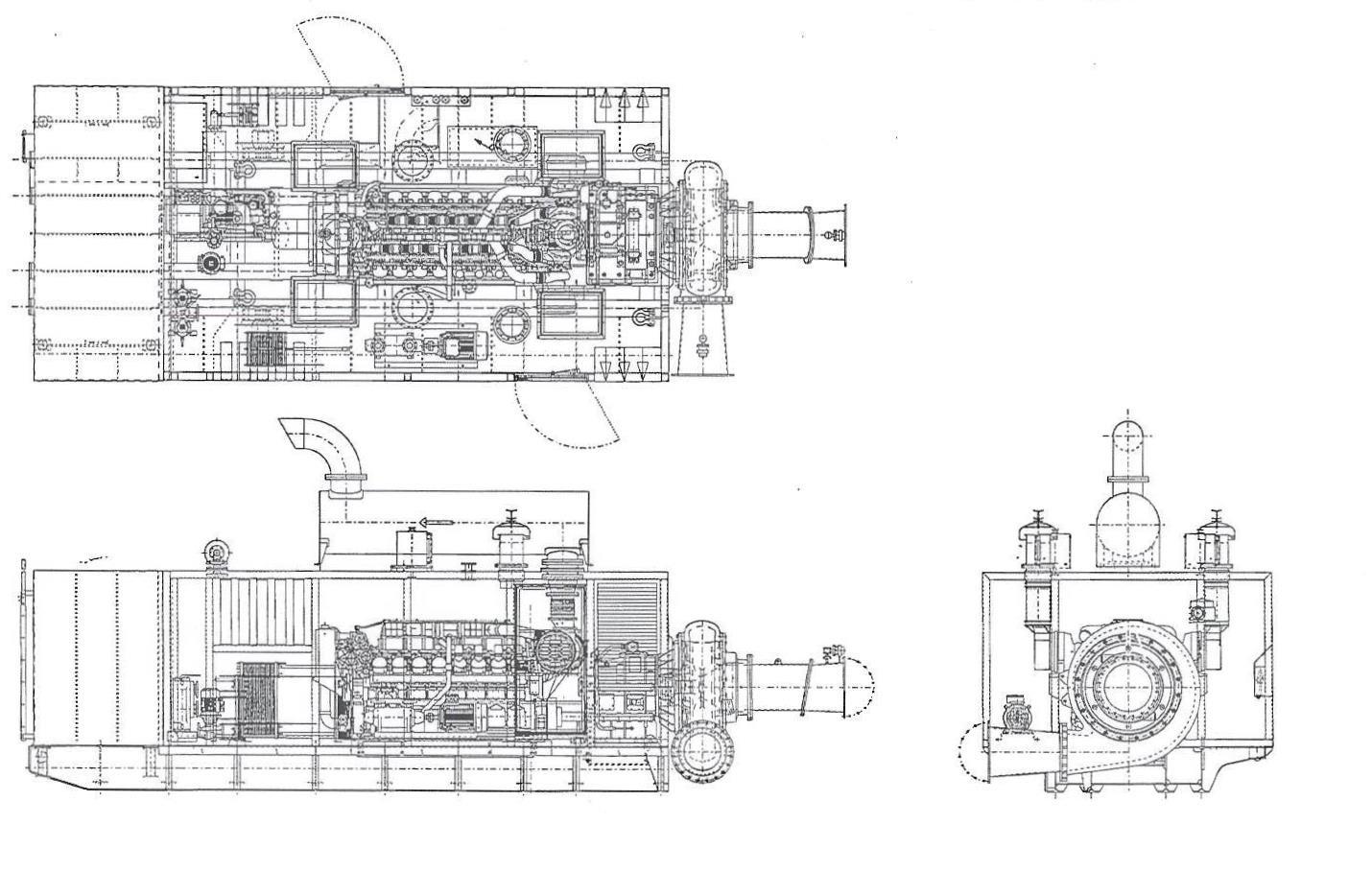 Booster pump unit