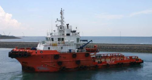 barco anclaje