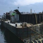 Rock barge