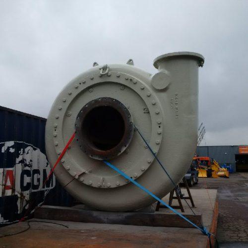 Dredge Boost pump