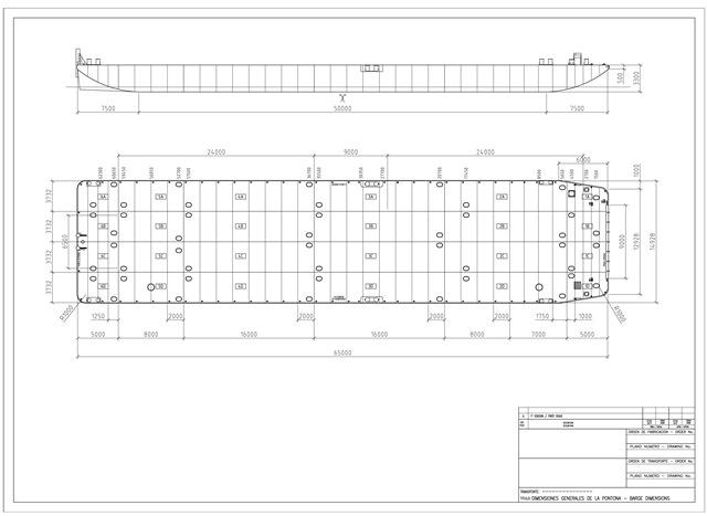 1700 DWT Flattop barge - Van Loon Maritime Services B V