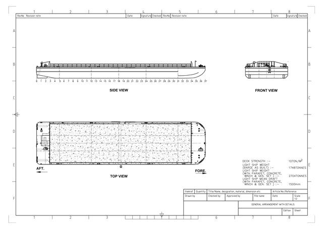cargo barge