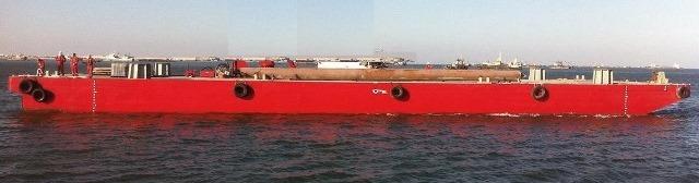 Spud barge