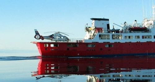 arctic yacht