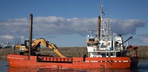 excavator hopper dredger