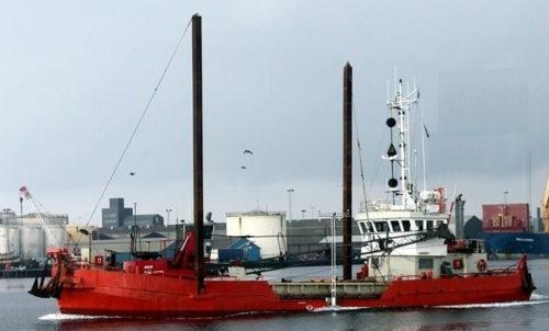 Grab hopper dredger