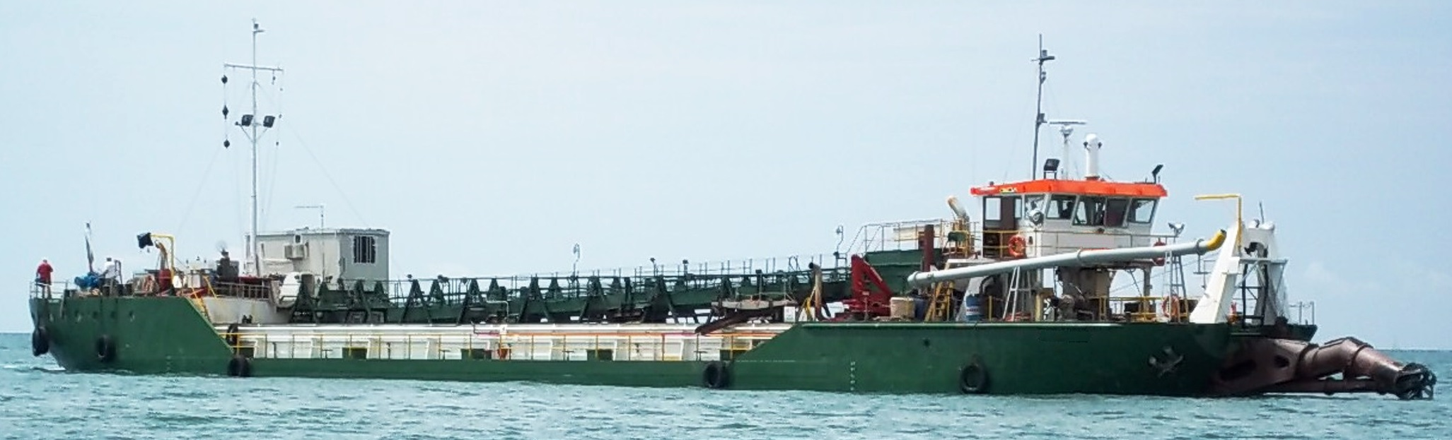 500 m3 Cutter Suction Hopper Dredger - Van Loon Maritime