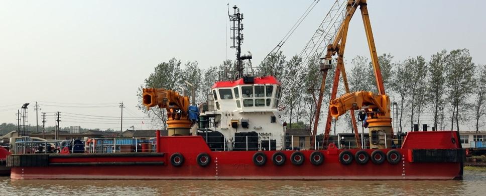 dive barge