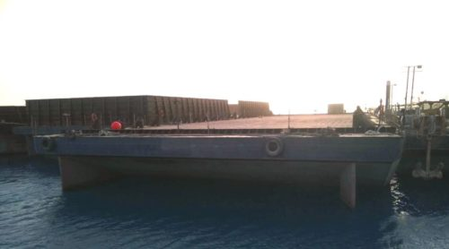 load barge