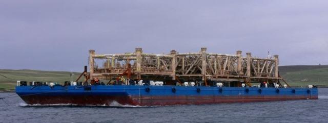 North Sea Barge